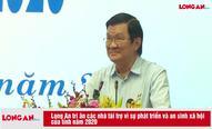 Long An tri ân các nhà tài trợ vì sự phát triển và an sinh xã hội của tỉnh năm 2020