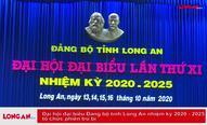 Đại hội đại biểu Đảng bộ tỉnh Long An lần thứ XI, nhiệm kỳ 2020 - 2025 tổ chức phiên trù bị