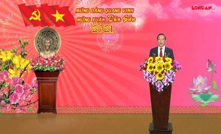 Chủ tịch UBND tỉnh Long An chúc mừng năm mới Tân Sửu 2021