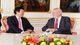 Chủ tịch nước hội đàm với Tổng thống Czech