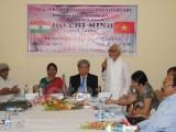 Chủ tịch Ủy ban Đoàn kết Ấn-Việt ca ngợi Chủ tịch Hồ Chí Minh