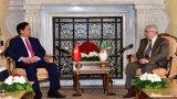 Thủ tướng Nguyễn Tấn Dũng hội kiến Chủ tịch Thượng viện Algeria