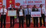 Long Định: Đón nhận danh hiệu xã văn hóa