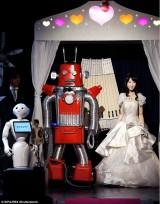 Đám cưới robot đầu tiên trên thế giới