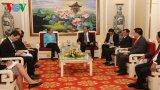 Bộ trưởng Trần Đại Quang tiếp đoàn đại biểu cấp cao Bộ Nội vụ Hoa Kỳ