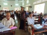 Đại biểu Quốc hội tiếp xúc cử tri Bến Lức, Châu Thành, Mộc Hóa