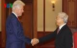 Tổng Bí thư Nguyễn Phú Trọng tiếp cựu Tổng thống Mỹ Bill Clinton