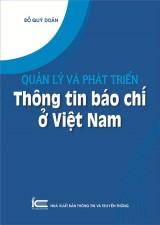 Quản lý và phát triển thông tin báo chí ở Việt Nam