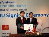 Việt Nam-Hàn Quốc ký thỏa thuận hợp tác công nghệ thông tin