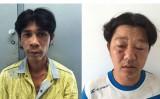 Giật túi xách người đi đường, 2 tên cướp bị bắt