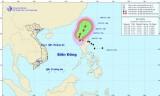 Bão LINFA giật cấp 10-11 đang hoành hành trên Biển Đông
