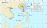 Cập nhật tình hình vị trí và ảnh hưởng của cơn bão số 2