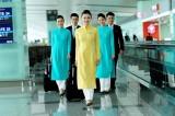 Tiếp viên Vietnam Airlines chính thức diện đồng phục mới