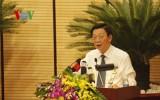 Chủ tịch TP Hà Nội: Chặt hạ cây xanh là bài học sâu sắc