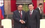 Chủ tịch nước Trương Tấn Sang tiếp Phó Chủ tịch nước Lào