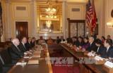Tổng Bí thư Nguyễn Phú Trọng gặp Thượng Nghị sĩ John McCain