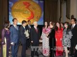Tổng Bí thư gặp mặt cộng đồng người Việt tại Hoa Kỳ