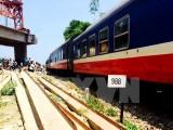 Tàu hỏa SE4 bị mất lái, trật đường ray khi đi qua Quảng Ngãi