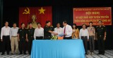 Cục Chính trị Quân khu 7 và Đài PTTH Long An ký kết tuyên truyền