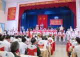 Khai mạc Đại hội Đảng bộ huyện Cần Giuộc lần thứ XI, nhiệm kỳ 2015-2020