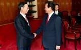Thủ tướng Nguyễn Tấn Dũng tiếp Phó Thủ tướng Trung Quốc
