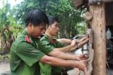 Tuổi trẻ Công an tỉnh ra quân Chiến dịch tình nguyện năm 2015