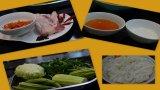 Cách làm món kho quẹt với rau củ luộc và cơm cháy