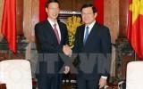 Chủ tịch nước: Việt-Trung cần tăng cường tạo sự tin cậy chính trị