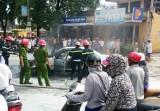Thanh Hóa: Vừa đổ xăng xong, xế hộp bốc cháy dữ dội