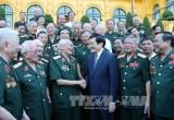 Chủ tịch nước gặp mặt Ban Liên lạc Mặt trận Tây Nguyên B3