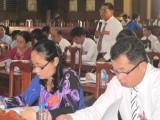 Đại hội Đại biểu Đảng bộ huyện Thạnh Hóa lần thứ VI: Nhiều ý kiến liên quan đến nông nghiệp