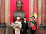 Thăng quân hàm Thượng tướng cho đ/c Bùi Quang Bền, Phương Minh Hòa