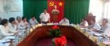 Kiểm tra công tác chuẩn bị Đại hội Đảng bộ huyện Đức Hòa