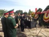 Long An: Tiếp nhận 30 bộ hài cốt quân tình nguyện Việt Nam hy sinh ở Campuchia