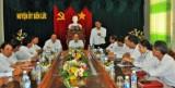 Chủ tịch Ủy ban Trung ương MTTQ Việt Nam - Nguyễn Thiện Nhân thăm và làm việc tại huyện Bến Lức