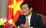 Bài viết của Chủ tịch nước Trương Tấn Sang về 30 năm đổi mới