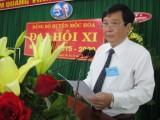 Khai mạc Đại hội Đảng bộ huyện Mộc Hóa lần thứ XI, nhiệm kỳ 2015-2020: Đoàn kết - dân chủ - năng động - phát triển bền vững