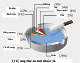 Những tác hại của thuốc lá đối với sức khỏe của người hút thuốc