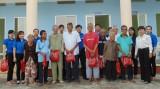 Đoàn cơ sở Ngân hàng NN&PTNT chi nhánh Long An: Góp sức trẻ xây dựng cộng đồng