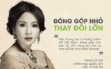 """Ca sĩ Thanh Lam: """"Hãy cho chúng tôi được hát vì người dân Quảng Ninh"""""""