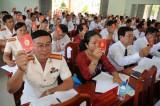 Long An: Đại biểu Đảng bộ huyện Thủ Thừa đạt và vượt nhiều chỉ tiêu