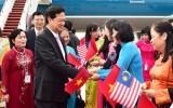 Việt Nam - Malaysia tuyên bố thiết lập Đối tác chiến lược