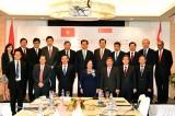 Thủ tướng gặp gỡ các doanh nghiệp hàng đầu Singapore
