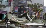 Siêu bão Soudelor gây thiệt hại nặng nề tại Trung Quốc