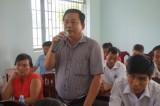 Đại biểu Quốc hội Long An, Cà Mau và TP. Hà Nội tiếp xúc cử tri tại huyện Đức Huệ, Long An