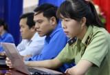 Long An: Hội thi trắc nghiệm trực tuyến
