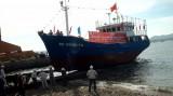 18 tỉ đồng đóng tàu vỏ thép đánh lưới vây