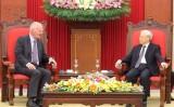 Tổng Bí thư tiếp Đại sứ, Trưởng phái đoàn EU tại Việt Nam