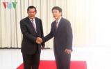 Thủ tướng Campuchia Hun Sen tiếp Tổng Giám đốc VOV
