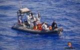 40 người di cư bỏ mạng, 320 người khác được cứu trên Địa Trung Hải